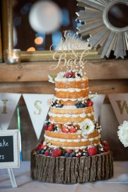 Naked Wedding Cake - ICED Cupcakery - Prince Edward County